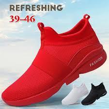 Summer <b>Men's Fashion Running</b> Shoes <b>Men</b> Breathable <b>Mesh</b> ...