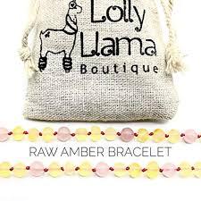 Raw Amber Teething Bracelet for Babies (Unisex ... - Amazon.com