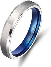 <b>TIGRADE</b> Titanium <b>Rings</b> 4MM 6MM <b>8MM</b> 10MM Wedding Band in ...