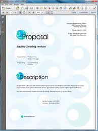 Cleaning Proposal Template | submitalink.net via Relatably.com