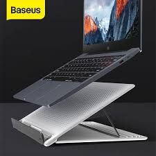 <b>Baseus</b> Adjustable <b>Folding Laptop Stand</b> for Notebook Tablet ...