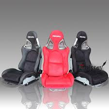 ad912 redblueblack leather suede recaro frpcarbon fibercolor honda recaro seat office