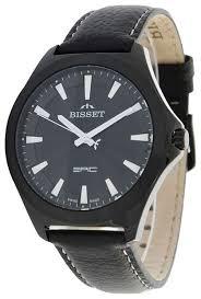 Наручные <b>часы BISSET BSCE40BIBW03BX</b> — купить по выгодной ...