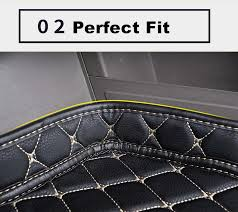 SJ High Side Waterproof <b>Car Trunk Mat AUTO</b> Tail Boot Tray Liner ...