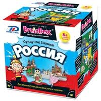 <b>Настольная игра BrainBox Сундучок</b> знаний Россия ...
