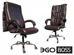 <b>Офисное массажное кресло EGO</b> BOSS EG1001 BORDO в ...
