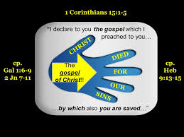 Image result for 1 corinthians 15:1~5