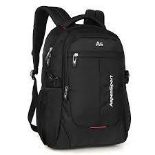 ASPENSPORT <b>Laptop Backpack</b> for <b>Men</b> School Bookbag Fit <b>15.6</b> ...