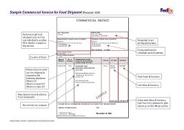 doc 715925 commercial invoice template bizdoska com doc 17541240 commercial invoice template fedex invoice template ideas
