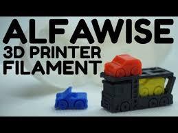 <b>Alfawise</b> 3D <b>Printer Filament</b> Review - Multicolor 1.75MM <b>PLA</b> 4pcs ...