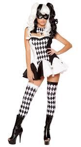 Women Sexy <b>Funny Circus Clown Costume</b> Naughty Harlequin ...