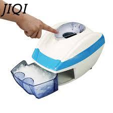 JIQI 220V/110V Household <b>Ice</b> Crushers Shavers electric snow <b>ice</b> ...