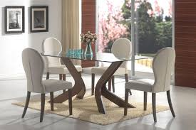 Glass Dining Room Tables Round Glass Dining Room Table Nitrofocusfacts