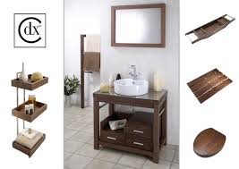 croydex bathroom cabinet: cdx walnut range a range of premium contemporary washstands and other bathroom accessories designed for croydex ltd products were displayed at the