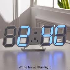 <b>3D LED Wall Clock</b> – Dibbby