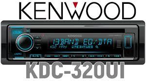 Обзор головного устройства ( ресивера) <b>Kenwood KDC</b>-<b>320UI</b> ...