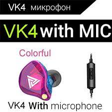 MKLLYNG <b>QKZ VK4 Stereo</b> Wired Earplugs Noice Isolating Earbuds ...