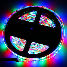 <b>ZDM</b> 5M 2835 <b>RGB</b> 300 <b>LED Lights Strip Light</b> with IR 24 Remote ...