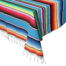 Amazon.com: <b>OurWarm</b> 59 x 84 Inch <b>Mexican</b> Serape <b>Blanket</b> ...