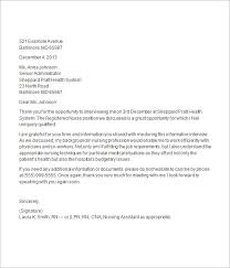 interview thank you letter template  samples thank you  thank you letter after job interview 15  documents