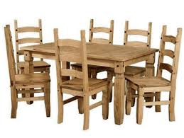 pine dining room table and chairs corona mexican style solid pine dining and occasional