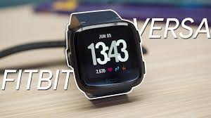 <b>Fitbit Versa smartwatch</b> Review - YouTube