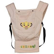 <b>Рюкзак</b>-<b>кенгуру Polini kids Disney</b> baby Король Лев , с вышивкой ...