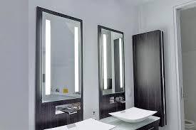 bathroom lighting idea for makeup mirror bathroom makeup lighting