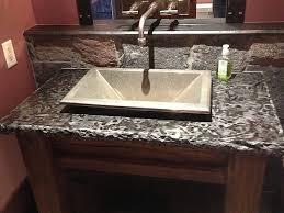 bathroom vanity mirror ideas modest classy:  modest design bathroom vanity with granite top sweet bathroom tops home remodeling experts in usa