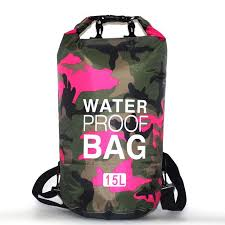 5L 10L 20L 30L <b>PVC Waterproof Dry Bag Camo</b> Outdoor Diving ...