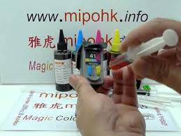 Canon <b>PG-40 CL-41 PG40 CL41 Cartridge</b> Refill by mipohk - YouTube