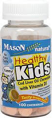 Healthy Kids <b>Cod Liver Oil Chewable</b> with Vit D Healthy Kids Cod ...