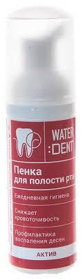 Купить пенка для полости рта <b>Global white</b> Waterdent Актив 50 мл ...