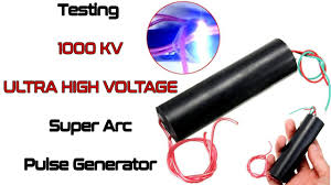 Testing 1000 KV Ultra <b>High Voltage</b> Super Arc <b>Pulse Generator</b> ...