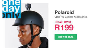 20% off on <b>Polaroid Cube</b> HD Camera Accessories | OneDayOnly ...