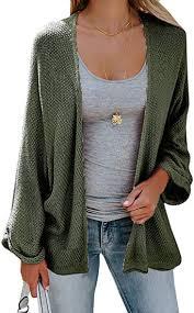 Sherrylily Womens <b>Loose</b> Open Front Kimono Cardigan <b>Cape</b> Long ...