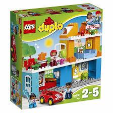 <b>Конструктор LEGO DUPLO Town</b> 10835 Семейный дом - купить в ...