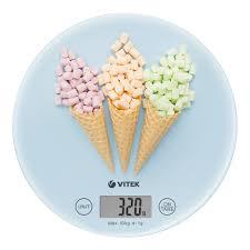 <b>Кухонные весы</b> электронные купить - <b>Vitek</b>