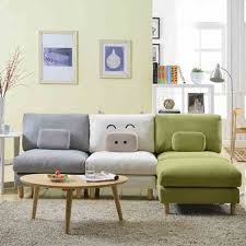 show homes small pig japanese korean lazy sofa single small apartment living room furniture corner combination apartment living room furniture