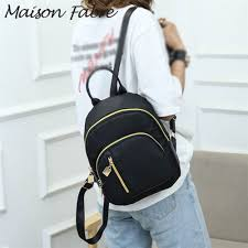 Maison Fabre <b>bag</b> men <b>women Oxford backpack</b> zipper solid ...