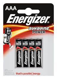 <b>Батарейка</b> AAA <b>Energizer</b> Alkaline <b>Power</b>, 4 шт - купить по цене ...