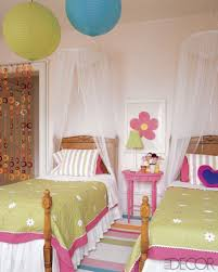 Pottery Barn Girls Bedroom Bedroom Two Girls Bedroom Accented With Pottery Barn Kids
