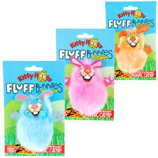 Купить игрушка Fat <b>Cat Fluff</b> Bunnies Cat Toy Пушистый кролик ...