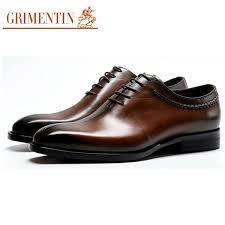 GRIMENTIN Fashion <b>Designer</b> Formal <b>Mens</b> Dress Shoes <b>Luxury</b> ...
