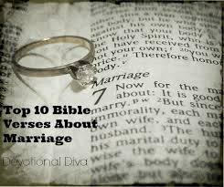 Top 10 Bible Verses About Marriage - Devotional Diva®