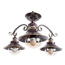 Потолочная <b>люстра Arte Lamp</b> 7 <b>A4577PL</b>-<b>3CK</b>
