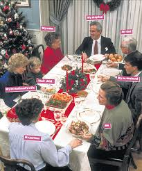 The modern (and often unorthodox) <b>Christmas family gathering</b> | The ...