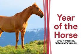 Year of the Horse: 2020 Horoscope (Zodiac Horse Fortune ...