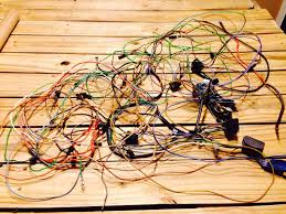 i m nearing the end of a massive wiring overhaul and i need some here is the satisfying organization of the wires after an hour of work