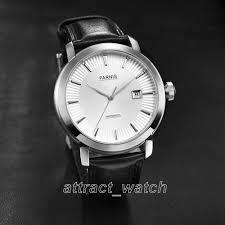 <b>42mm Parnis</b> Miyota Automatic Men <b>Business</b> Watch Sapphire ...
